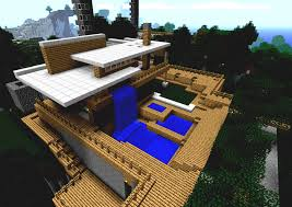 Cool Pool Houses Pics For Gt Cool Houses With Pools In Minecraft Furnicool Co