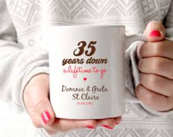 35 anniversary gift any year anniversary or 2nd anniversary 2 years of marriage