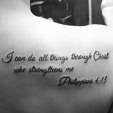 inspiring bible quote tattoos best tattoos for 2018 ideas