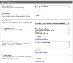 Spreadsheet Integration Spreadsheet Codeless Data Integration And Synchronization