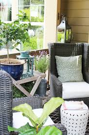 Outdoor Wingback Chair Outdoor Wingbacks For The Front Porch The Inspired Room