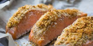 comment cuisiner le pavé de saumon pavés de saumon au parmesan et aux noisettes mes recettes faciles