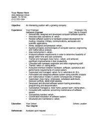 printable resume template software engineer resume template free printable
