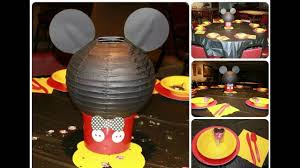 creative mickey mouse birthday decorations ideas