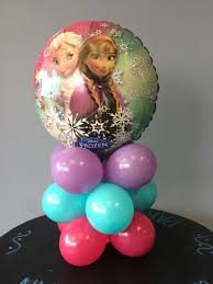 Table Top Balloon Centerpieces by Frozen Table Top Column Diy Balloon Kit Columns Products And Frozen