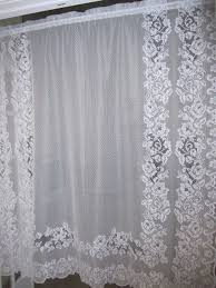 79 best vintage lace curtains images on pinterest shabby chic