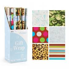 shrink wrap gift paper flomo all occasion wrapping paper rolls gift wrap and shrink