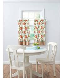Kitchen Curtains On Sale by Amazing Deal On Better Homes And Gardens Jacobean Stripe Kitchen