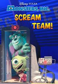 monsters scream team disney chapter book ebook kindle