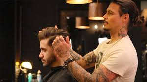 daniel alfonso hair salon la david beckham inspired hairstyle men s hair tutorial youtube