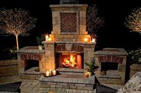 Wood Burning Fireplace by Outdoor Wood Burning Fireplaces Fond Memories Of Summer Camp
