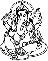 lord ganesha coloring pages coloring