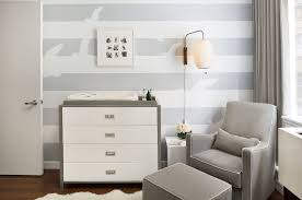 amazing design modern nursery ideas features rectangle shape gray