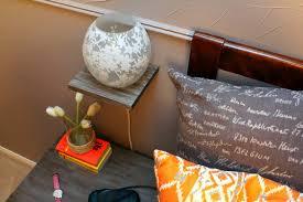 Floating Nightstand Shelf Remodelaholic Easy Floating Bedside Shelf Tutorial
