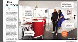 food network magazine rev run kitchen design by http www kuche