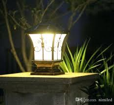 led l post bulbs light warm white led solar landscape light ii bulb outdoor black