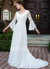 a line princess wedding dress a line princess v neck court chiffon wedding dress with lace