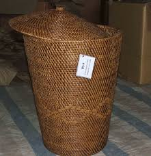 Rattan Rug Bathroom Interesting Wicker Laundry Hamper With Striped Rugs