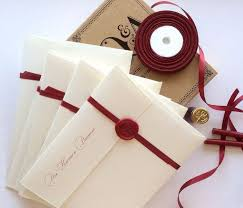 wedding invitations diy wax seal wedding invitation 10 wonderful diy wedding invitations