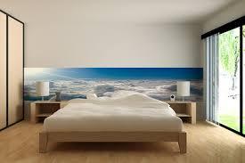 chambre bleu horizon frise murale izoa chambre bleu horizon atic info