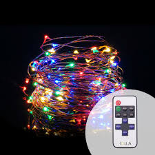 Starry String Lights On Copper Wire by Aliexpress Com Buy Rf Remote 12m 100 Led Usb Outdoor Led Copper