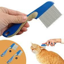 Sisir Kutu anjing puppy cat rambut sikat sisir kutu bulu sisir grooming