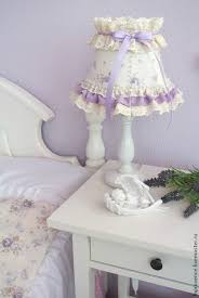 buy table lamp in lilac lace baby shabby chic style on livemaster
