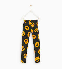 halloween jack o u0027 lantern leggings new in 5 14 years