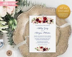 wedding invitations nz wedding invitations etsy nz