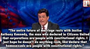 Anti Gay Marriage Meme - stephen colbert s wisdom and the defender of marriage motley