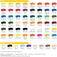 system 3 acrylics hints and tips colour charts