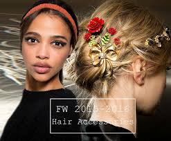 hair accessory fall winter 2015 2016 hair accessory trends fashionisers