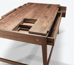 Modern Wood Desk Real Wood Desk Awesome Fabulous Solid Computer Desks And Intended