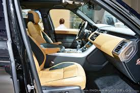 range rover interior 2018 range rover sport at dubai motor show 2017 interior indian