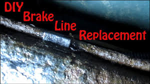 diy blazer brake line replacement how to replace rusted brake