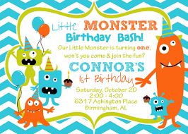 How To Make Invitation Cards For Birthday Impressive Monster Birthday Party Invitations That Maybe You Are