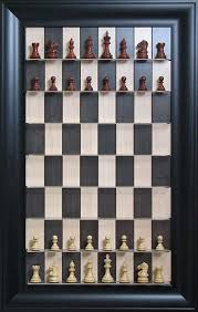how to set up chess table have you ever played chess while standing by the wall you can do