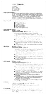 technical resume templates free professional engineering resume templates resumenow
