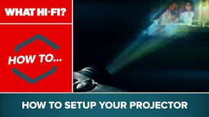 setting up home theater how to set up your projector youtube