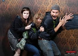 halloween 2014 people scared in haunted house time com