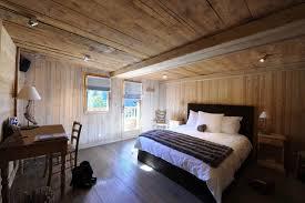 chambre en bois design intérieur des maisons en bois
