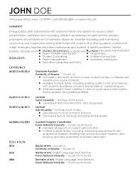 hr resumes samples school administrator resume resume for your job application resume templates education administrator