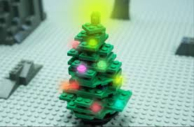 Christmas Tree Stop - how to build a lego christmas tree stop motion youtube