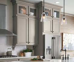 Kitchen With Gray Cabinets Stone Gray Laminate Cabinets Aristokraft Cabinetry