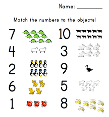 number worksheets for preschool kiddo shelter