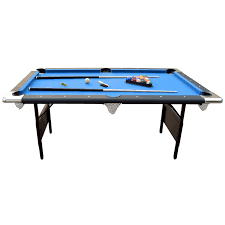 Table Size Amazon Com Hathaway Fairmont 6 U0027 Portable Pool Table Sports