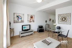 Wohnzimmer M El Poco Apartment Mieten Betis Strasse Sevilla Spanien Betis Blue 1
