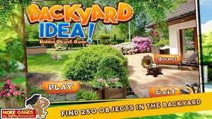 New Backyard Games by New Free Hidden Object Game Free New Backyard Idea Android Apps