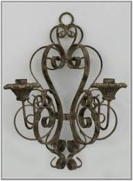 Candle Wall Sconces Wrought Iron Wall Sconces Candles Wrought Iron Open Travel