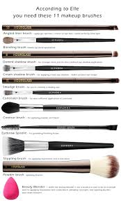how to use diffe makeup brushes 11 makeup brushes every woman needs